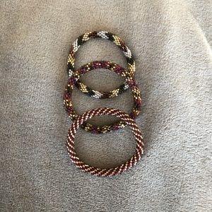 Set of 3 Lilly & Laura Bracelets